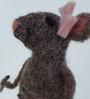 De Kulture Works Multicolour Felt Mouse Doe Showpiece
