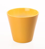 Decardo Yellow Ceramic Glazed Planter