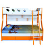 Deccan Bunk Bed in Orange Colour by HomeTown