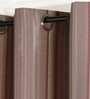 Deco Essential Multicolour Polyester 46 x 90 Inch Jacquard Eyelet Door Curtain - Set of 2