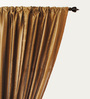 Deco Window Brown Polyester 50 x 96 Inch Door Curtain - Set of 2