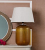 Agata Table Lamp in Cream by CasaCraft