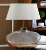 Agnese Table Lamp in Natural by CasaCraft