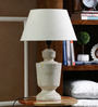 Colyton Table Lamp in Off White by Amberville