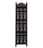 Decorhand Brown Mango Wood Carving Room Divider
