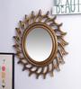 Decorhand MDF Golden Mirror