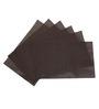 Decorika Reversible Brown PVC Table Mat - Set of 6