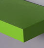 AYMH Light Green MDF Floating Wall Shelves - Set Of 3
