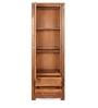 Delmonte Curio Book Case Right Door in Walnut Finish by @home