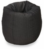 Denim Bean Bag Cover without Beans in Dark Blue Colour by Sattva