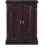 Glendale Guayana Shoe Rack in Passion Mahogany Finish by Amberville