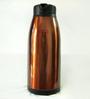 Deseo Brown Stainless Steel Glass Inner Vacuum Flask