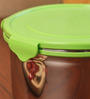 Deseo Penta Green Stainless Steel 2.05 L Storage Container