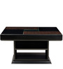 Designer Coffee Table with Walnut Finish by WADIA
