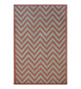 Designs View Pink & Ivory Fine Indian Blended Wool 60 x 36 Inch Hand Tufted Floor Covering Jiggy Design Area Rug