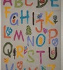 Designs View Multicolor Wool Alphabet Rectangular Hand-tufted Floor Covering