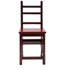 Detroit Teak Wood Dining Chair cum Ladder in Rosewood Finish by Finesse