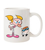 Dexter & Dee Dee Designed Coffee Mug by Orka
