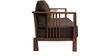 Dijon Three Seater Sofa in Dark Brown Colour by Auspicious