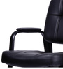 Diego Low Back Chair in Black Colour by Durian