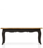 Dinan Coffee Table in Black & Natural Finish by The ArmChair