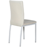Dining Chair in White Colour by Penache Furnishings