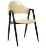 Dining Chair Set of 2 in Glossy Ivory Colour by Parin