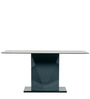 Metal Six Seater Dining Table by Parin