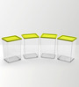 Disha Green 800 ML (Each) Storage Container - Set of 4