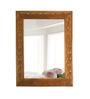 Lucio Minimalist Mirrors in Brown by CasaCraft
