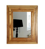 Lima Minimalist Mirrors in Brown by CasaCraft