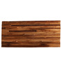 Heliodoro Contemporary Wall Shelf in Brown by CasaCraft