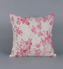 Diwa Home Pink Cotton 16 x 16 Inch Rose Pintuck Cushion Cover
