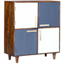 Dixon Bar Cabinet in Provincial Teak Finish by Woodsworth