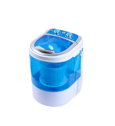 DMR 30-1208 Mini Washing Machine With Dryer Basket-Blue