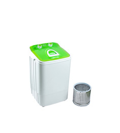 DMR 46-1218 Portable Single Tub Washing Machine With Steel Dryer Basket - Green