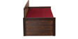 Dollop Slider Bed with Storage in Red Colour by Auspicious