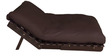 Double Futon with Mattress in Dark Brown Colour by Auspicious