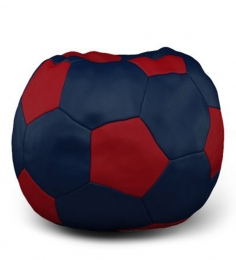 Dolphin Royal Blue N Red Football Patch Bean Bag