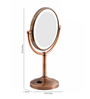 Dolphy Copper Brass and Stainless Steel Bath Mirror