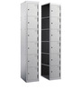 Double Coloum Locker with 12 doors by Eurosteel