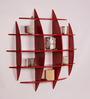 Dream Arts Red MDF Glamorous Wall Shelf