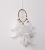 Rooh Wellness White Wool Dream Catcher