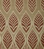 Dreamscape Brown Poly Cotton 84 x 48 Inch Abstract Door Curtains - Set of 2