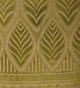 Dreamscape Green Poly Cotton 48 x 84 Inch Door Curtains - Set of 2