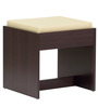 Katsurou Dressing Table and Stool in Chocolate Beech Finish by Mintwud