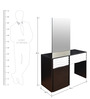 Dressing Table in Black & White Colour by Parin