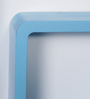 DriftingWood Blue MDF Cube & Rectangle Wall Shelf - Set of 3