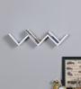 Almanzo Wall Shelf in White by CasaCraft