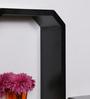 DriftingWood Black MDF Octagon Shape Wall Shelf - Set of 3